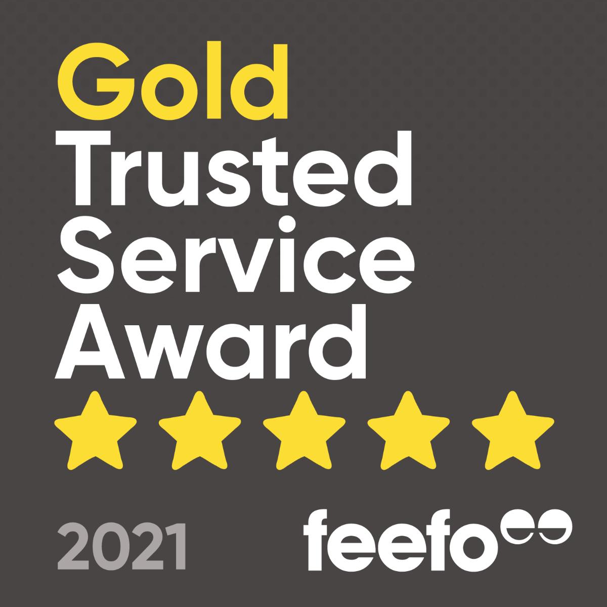 Feefo Commended Award 2017
